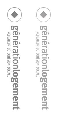 Coopérative d'habitation intergénérationnelle Suisse · Génération Logement
